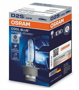 Osram D2S Cool Blue Intense (+20%) - 66240CBI (карт. короб.)