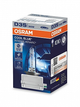 Osram D1S Cool Blue Intense (+20%) - 66140CBI (карт. короб.)