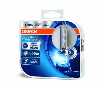Osram D4S Cool Blue Intense (+20%) - 66440CBI-HCB (пласт. бокс)