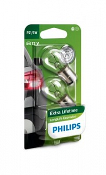 Philips P21/5W LongLife EcoVision - 12499LLECOB2