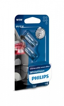 Philips W5W WhiteVision - 12961NBVB2